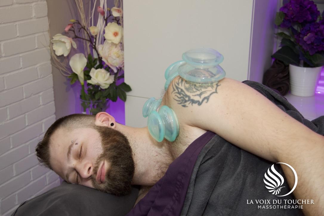 La voix du toucher - massage aux ventouses thérapeutiques